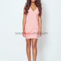 Phoenix Peach Pink Bandage Dress | Shop Fashion Therapy