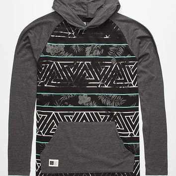 Lira Trinidad Val Mens Lightweight Hoodie Charcoal  In Sizes