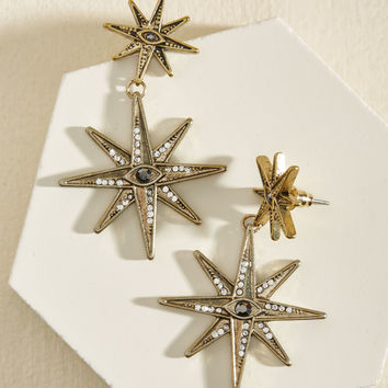 Wish Upon a Starburst Earrings | Mod Retro Vintage Earrings | ModCloth.com