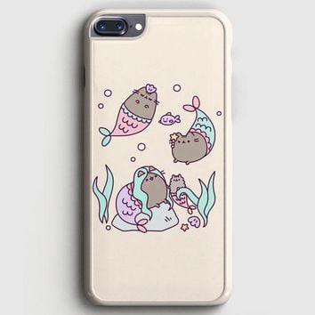 Pusheen The Cat Eat Every Thing iPhone 7 Plus Case | casescraft
