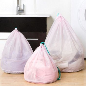 3pcs/set Home Mesh Laundry Bags Baskets For Bra Underwear Clothes Lingerie Cleaning Tool Washing Machine Accessories Supplies