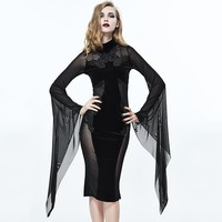 The Black Vamp Dress