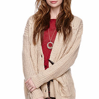 LA Hearts Toggle Fisherman Cable Sweater at PacSun.com