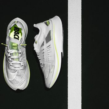 AA DCCK Nike Zoom Fly SP - Summit White/Volt Glow