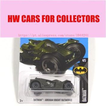 Batman Dark Knight gift Christmas 2017 New Hot Wheels 1:64 Green Batman Series Arkham Knight Batmobile Models Metal Diecast Cars Collection Kids Toys Vehicle AT_71_6