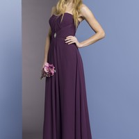 Liz Fields Long Chiffon Bridesmaid Dress 306