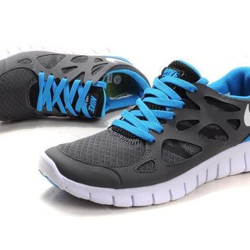 Nike Free Run +2.0 Men Sport Casual Multicolor Barefoot Sneakers Running Shoes