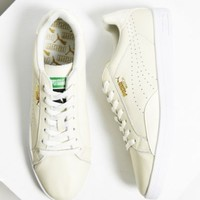 Puma Match Leather Low-Top Sneaker- White