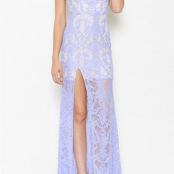 Isala Lavender Lace Maxi
