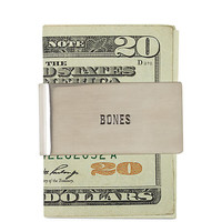 BONES MONEY CLIP