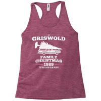 Griswold Family Christmas Racerback Tank