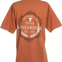 Comfort Colors - Longhorns Silver Wreath T-Shirt | Co-op