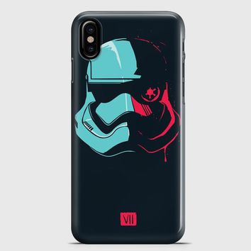 Stormtrooper Tie Pilot iPhone X Case