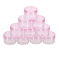 10Pcs Cosmetic Empty Jar Pot Eyeshadow Makeup Face Cream Container Mail