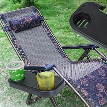 Folding Beach Garden Chair Side Tray