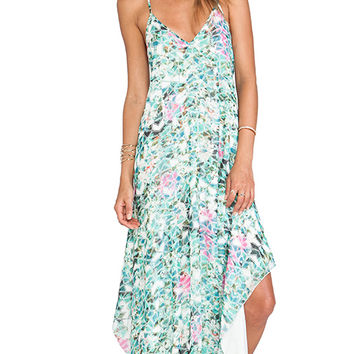 Lovers + Friends Curacao Slip Dress in Mint