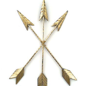 Arrow Wall Art, Arrow Wall Decor, Arrow Wall Hanging, Metal Decor, Tribal Decor, Native America, Native American Arrow, Arrows, Arrow Art