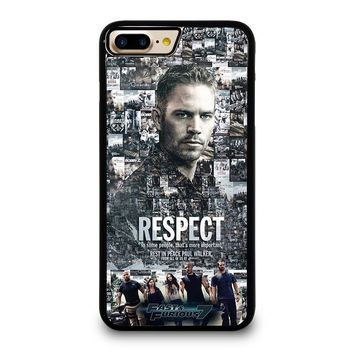 FAST FURIOUS 7 PAUL WALKER iPhone 7 Plus Case Cover