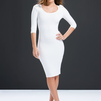 Zip To It Bodycon Dress GoJane.com