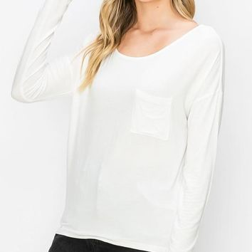 A Simple Favor Top - Off White