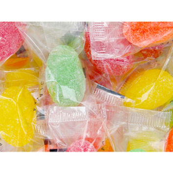 Wrapped Sour Jelly Candy Eggs: 4LB Bag