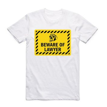 Keep Calm Cause I'm A Lawyer White T Shirt