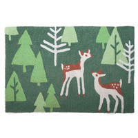 Woodland Fawn Indoor/Outdoor Washable Mat for your Home