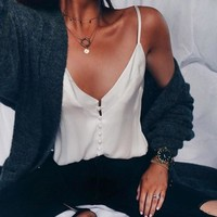 Women Chiffon Vest Top Sleeveless Casual Tank Blouse Summer Tops Shirt Sleeveless Loose top women haut femme camisas mujer