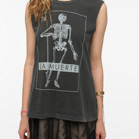 Urban Outfitters - Truly Madly Deeply La Muerte Muscle Tee