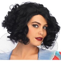 Curly Bob Wig Adult