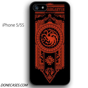 Game of Throne House Targaryen iPhone 5 / 5S Case