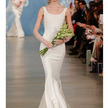 OSCAR DE LA RENTA ADELE 55N32 WEDDING DRESS