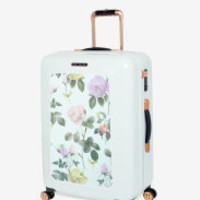 Large distinguishing rose suitcase - Mint | Bags | Ted Baker ROW