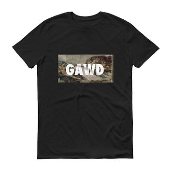 GAWD TEE SHIRT IN BLACK