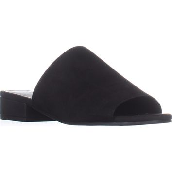 Lucky Brand Florent Slide Sandals, Black, 9 US / 39 EU