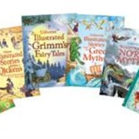 Usborne Books & More. Illustrated Stories Collection (6)