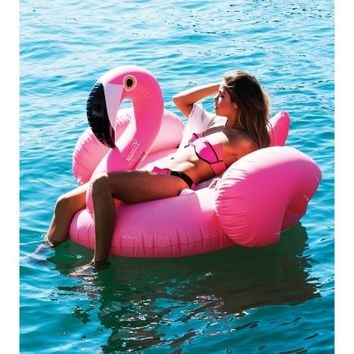 Outliving Really Big Inflatable Flamingo Pool Toy - Glue Store