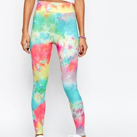 ASOS Leggings in Bright Tie Dye