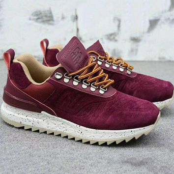 ONETOW new balance tbatre fashion running sport casual shoes sneakers wine red g a0 hxydxpf