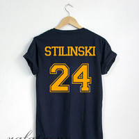 Stiles Stilinski Shirt Beacon Hills Teen Wolf Tshirt Navy Color Unisex Size - RT62