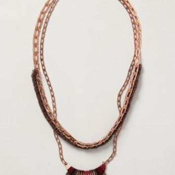 Clade Layered Necklace by Satellite Multi One Size Necklaces