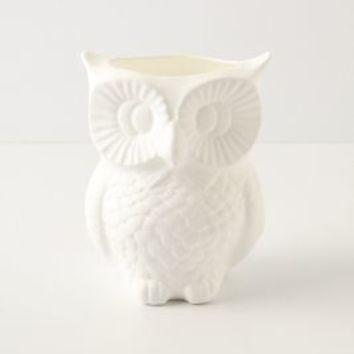 Sleepy Hollow Pencil Cup by Anthropologie White One Size Office