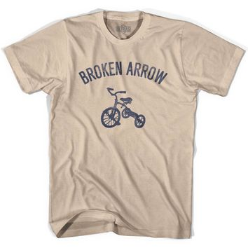 Broken Arrow City Tricycle Adult Cotton T-shirt