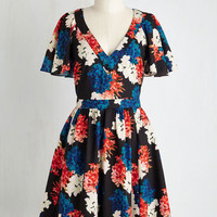 Mid-length Bolster Your Boldness Dress in Bloom