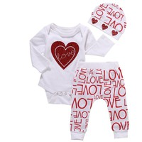 3pc LOVE Valentine's Day Outfit