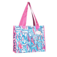 Lilly Pulitzer Market Bag- Red Right Return