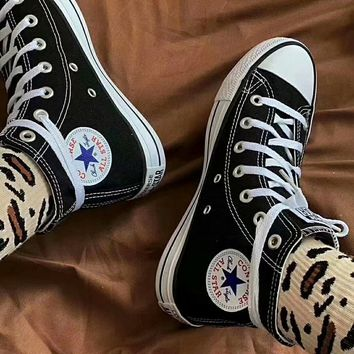 """""""Converse Chuck Taylor All Star"""" Unisex All-match Casual High Help Canvas Shoes Couple Classic Cloth Shoes"""