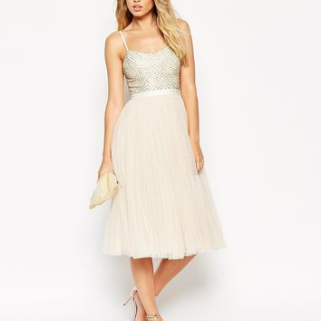 Needle & Thread Coppelia Ballet Midi Dress at asos.com