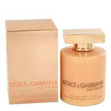 Rose The One Body Lotion By Dolce & Gabbana