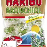 Haribo Bronchiol with Stevia and Mint Oil